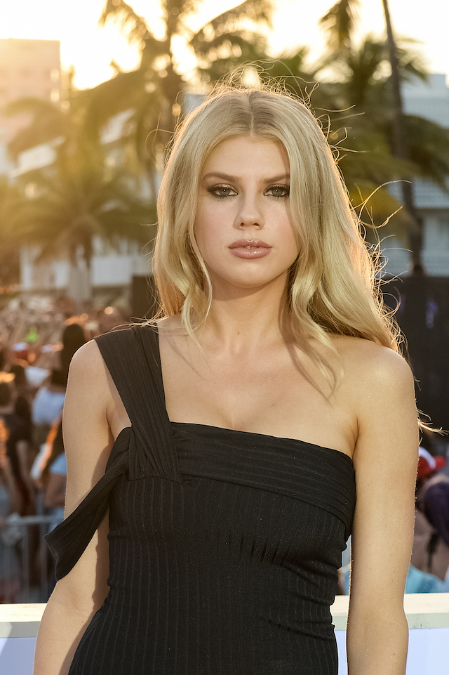 "MIAMI, FL - MAY 13: Charlotte McKinney attends Paramount Pictures' World Premiere of ""Baywatch""on May 13, 2017 in Miami, Florida. (Photo by Jason Koerner/Getty Images)"
