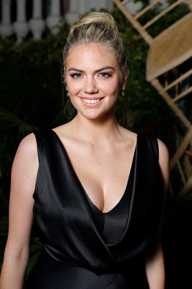 CANNES, FRANCE - MAY 24: Kate Upton attends the AMORE cocktail reception hosted by Ricardo Rojas and Jim Mannino on the Lemon Lemon Terrace during the 70th Annual Cannes Film Festival at Villa AH on May 24, 2017 in Cannes, France. (Photo by Andreas Rentz/Getty Images for Artist for Peace and Justice)