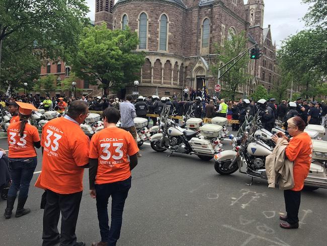 Yale Graduation Protest (Photo: Davis Richardson/The Daily Caller)