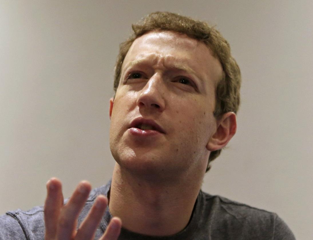 Mark Zuckerberg Reuters/Jose Miguel Gomez