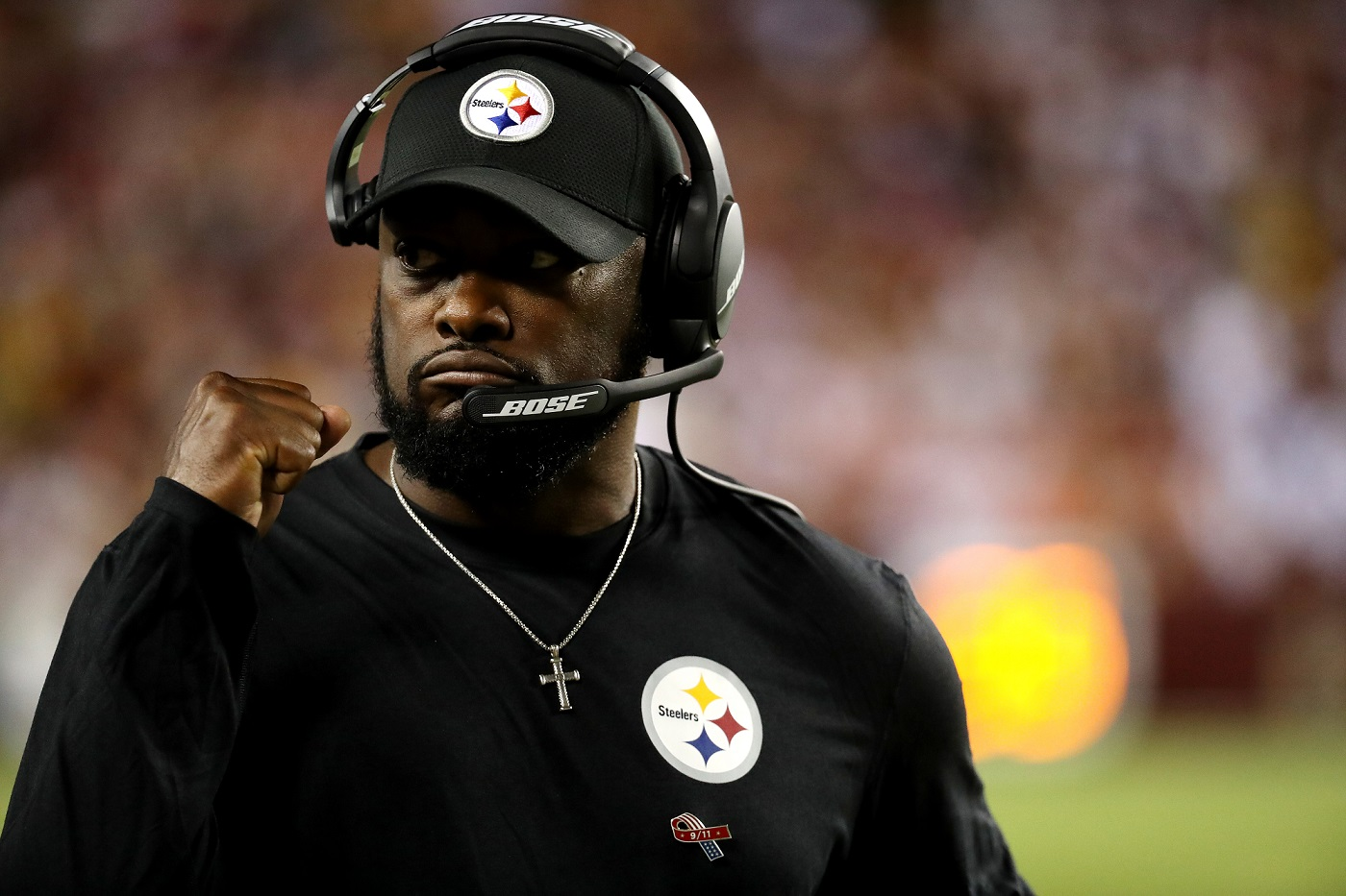 Mike Tomlin Getty Images/Robb Carr