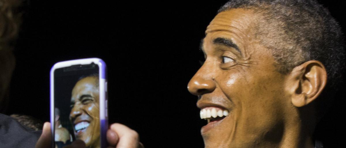 Obama Reuters/Kevin Lamarque