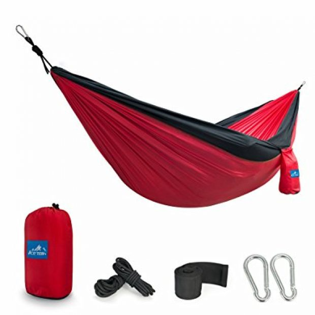 Normally $38, this double hammock is 50 percent off (Photo via Amazon)