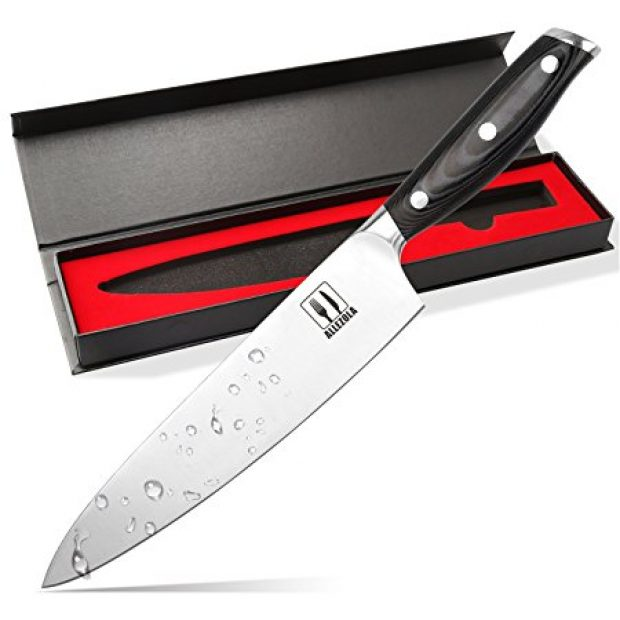 Normally $100, this chef's knife is 74 percent off for the next 4 hours (Photo via Amazon)