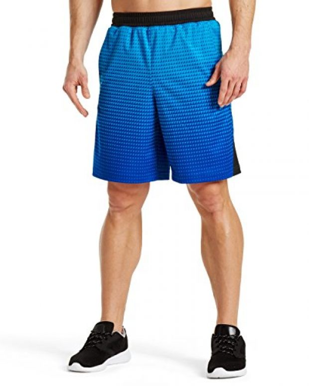 Normally $35, these basketball shorts are 20 percent off today (Photo via Amazon)