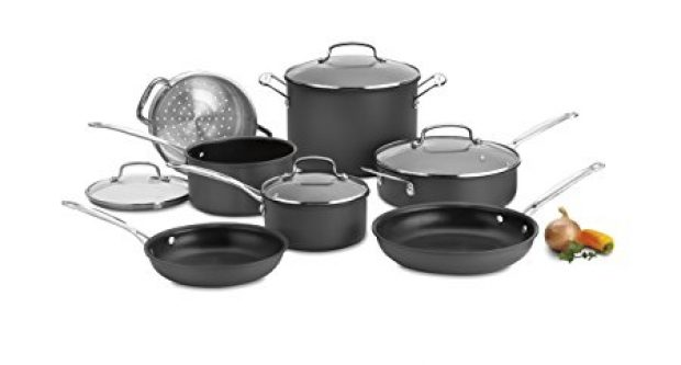 Normally $450, this cookware set is 75 percent off today (Photo via Amazon)