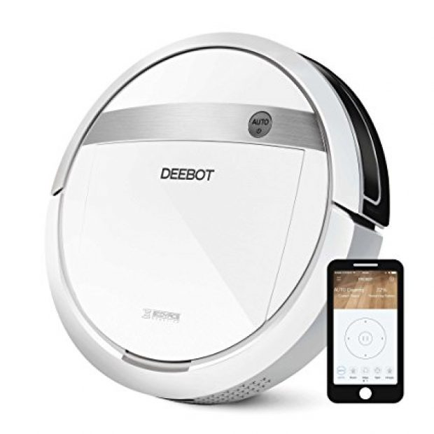 Normally $450, this robotic vacuum cleaner is 28 percent off today (Photo via Amazon)
