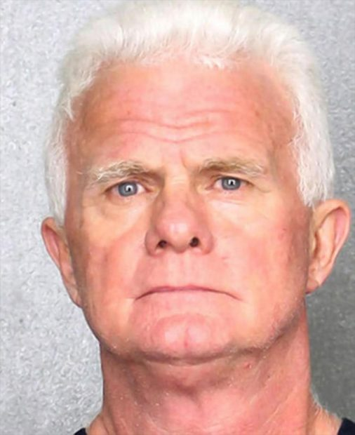 The face of an innocent man. / Broward County Sheriff's Office