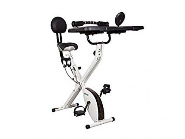 Normally $400, this desk bike is 38 percent off today (Photo via Amazon)