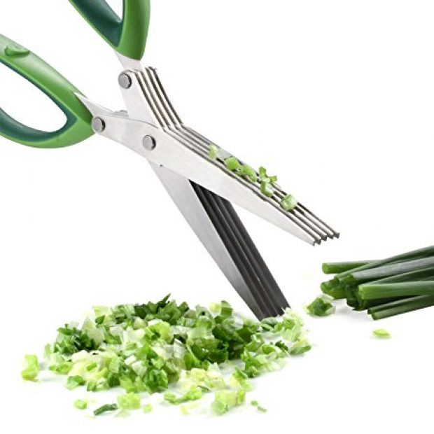 Normally $60, these herb scissors are 85 percent off right now (Photo via Amazon)