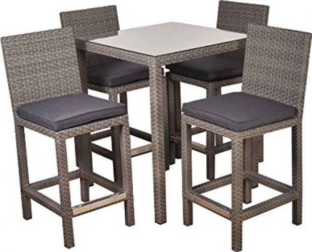 Normally $1,500, this 5-piece bar set is 37 percent off today (Photo via Amazon)