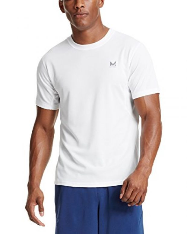 Normally $30, this athletic shirt is 20 percent off today. It is available in 9 colors (Photo via Amazon)