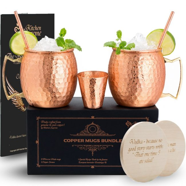 Get everything you'll need to make a Moscow Mule on Amazon (Photo via Amazon)