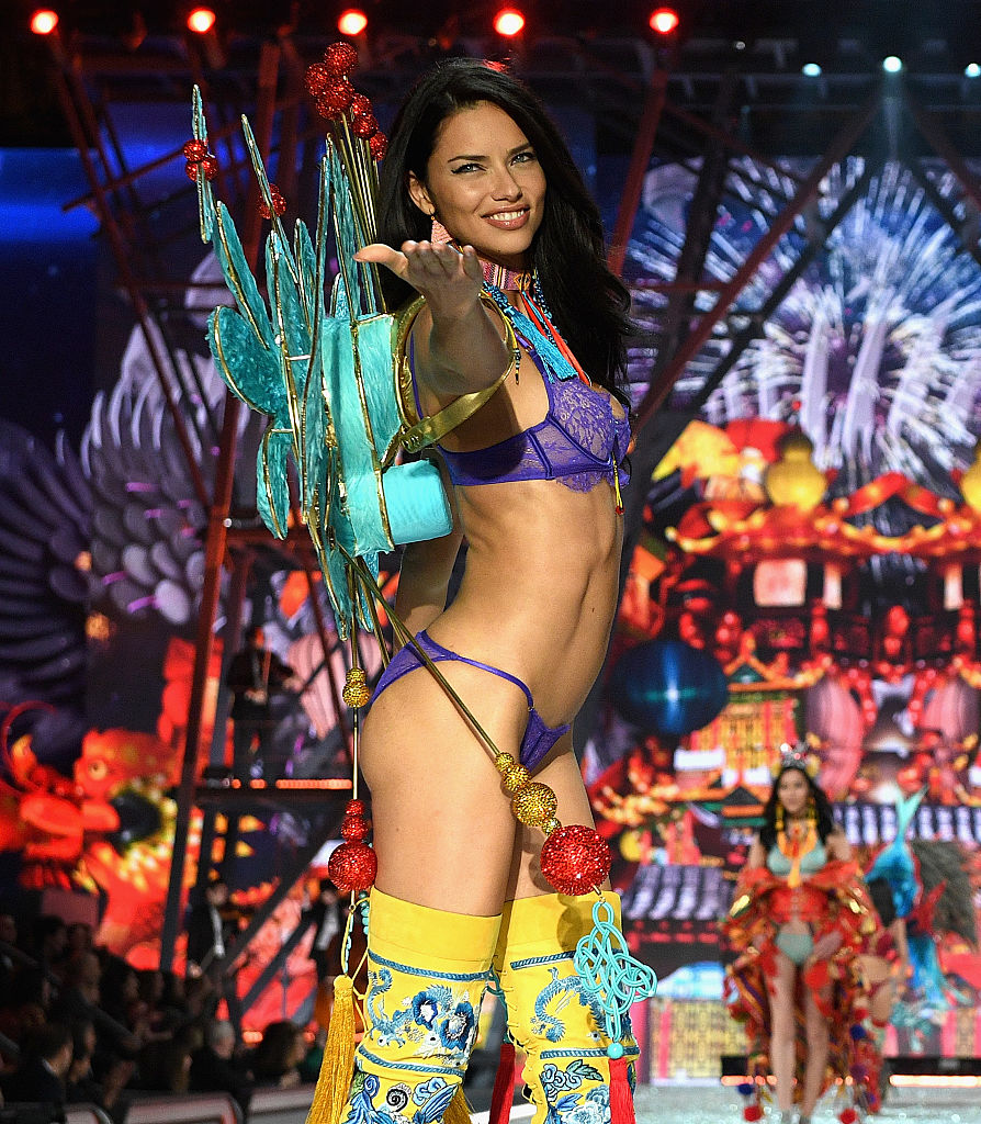 Sorry, that Victoria secret adriana lima nude