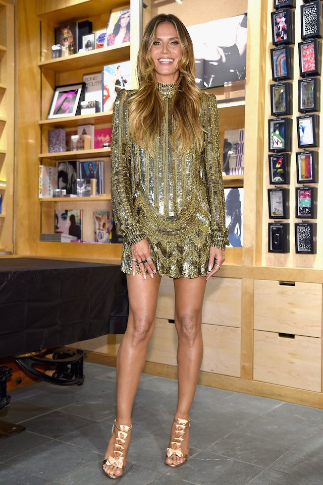 NEW YORK, NY - JUNE 06: Heidi Klum celebrates Heidi Klum By Rankin at Bookmarc on June 6, 2017 in New York City. (Photo by Dimitrios Kambouris/Getty Images for Heidi Klum)
