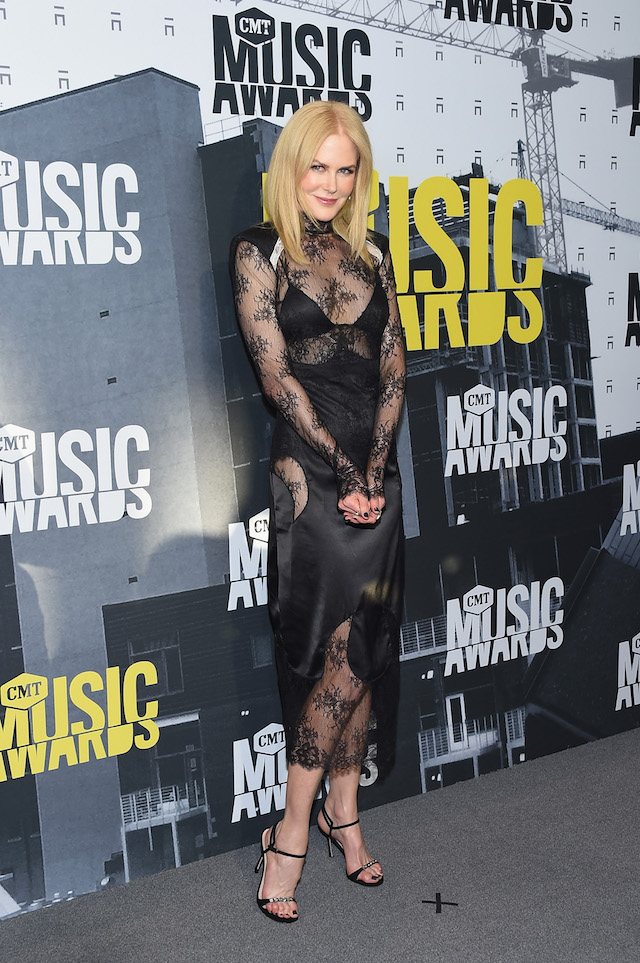 NASHVILLE, TN - JUNE 07: Actress Nicole Kidman attends the 2017 CMT Music Awards at the Music City Center on June 7, 2017 in Nashville, Tennessee. (Photo by Michael Loccisano/Getty Images For CMT)