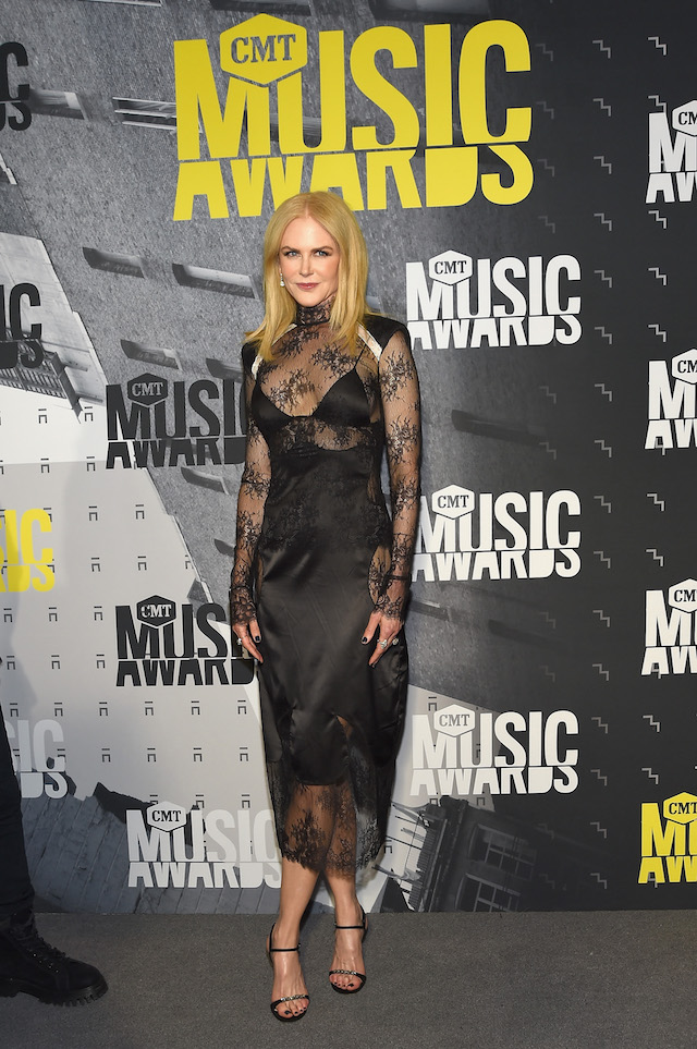 NASHVILLE, TN - JUNE 07: Actress Nicole Kidman attends the 2017 CMT Music awards at the Music City Center on June 7, 2017 in Nashville, Tennessee. (Photo by Rick Diamond/Getty Images for CMT)