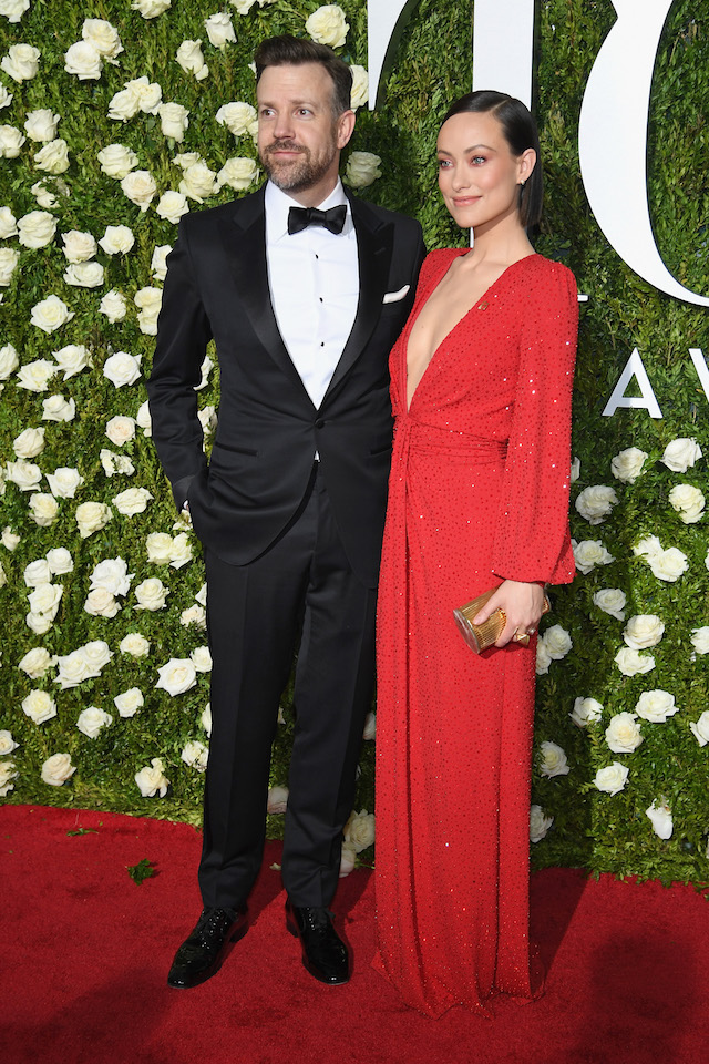 NEW YORK, NY - JUNE 11: Jason Sudeikis (L) and Olivia Wilde attend the 2017 Tony Awards at Radio City Music Hall on June 11, 2017 in New York City. (Photo by Dimitrios Kambouris/Getty Images for Tony Awards Productions)