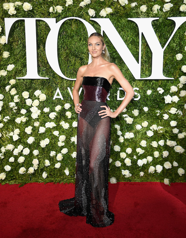 NEW YORK, NY - JUNE 11: Model Candice Swanepoel attends the 2017 Tony Awards at Radio City Music Hall on June 11, 2017 in New York City. (Photo by Dimitrios Kambouris/Getty Images for Tony Awards Productions)