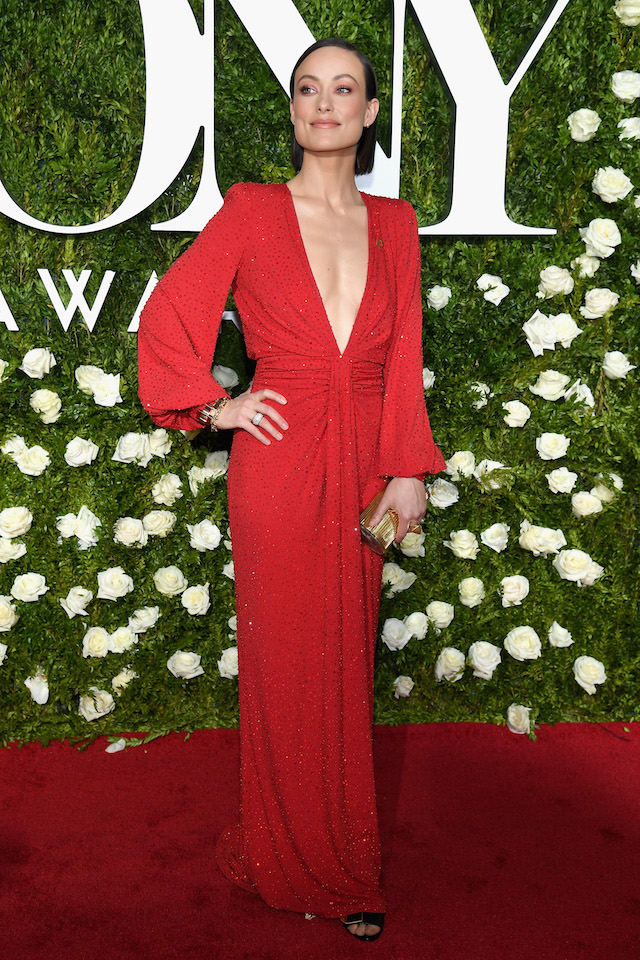 NEW YORK, NY - JUNE 11: Olivia Wilde attends the 2017 Tony Awards at Radio City Music Hall on June 11, 2017 in New York City. (Photo by Dimitrios Kambouris/Getty Images for Tony Awards Productions)