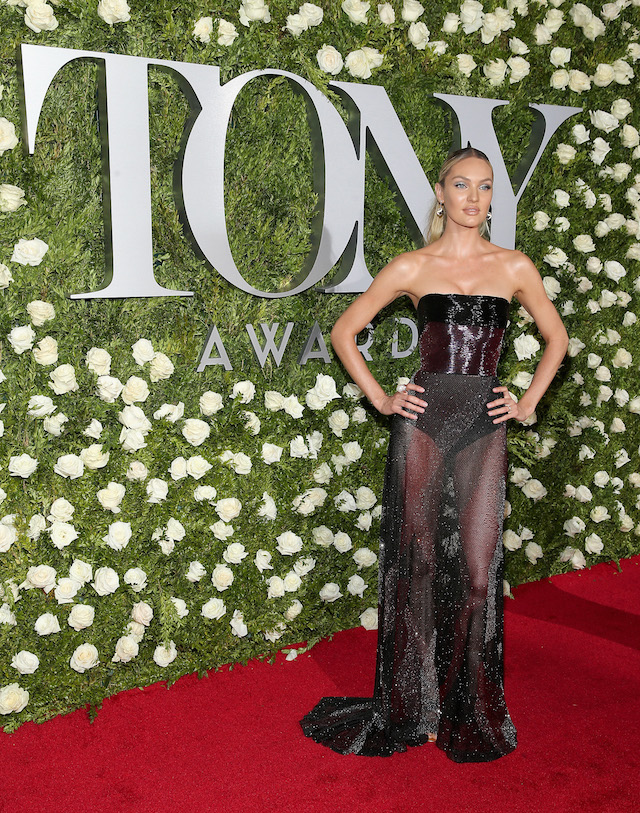 NEW YORK, NY - JUNE 11: Candice Swanepoel attends the 2017 Tony Awards at Radio City Music Hall on June 11, 2017 in New York City. (Photo by Jemal Countess/Getty Images for Tony Awards Productions)