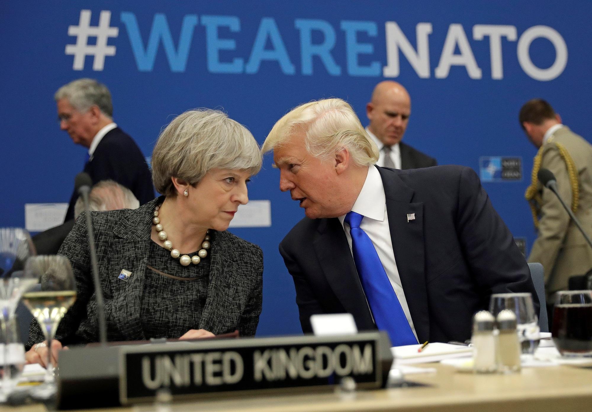 Trump NATO Reuters/Matt Dunham