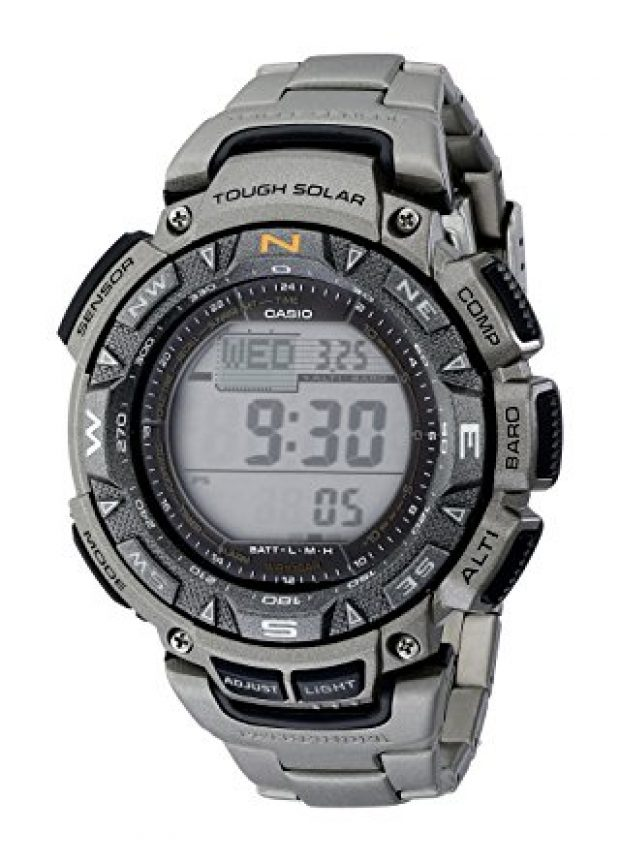 Normally $300, this Casio watch is 65 percent off today (Photo via Amazon)