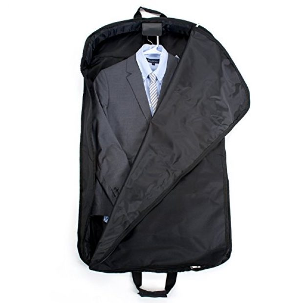 Normally $100, this garment cover is 75 percent off today (Photo via Amazon)