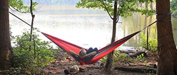 This is a better place for your hammock than on your neighbor's front porch (Photo via Amazon)