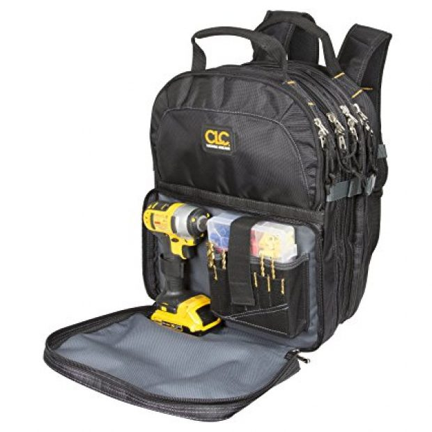 Normally $93, this tool backpack is 20 percent off today (Photo via Amazon)