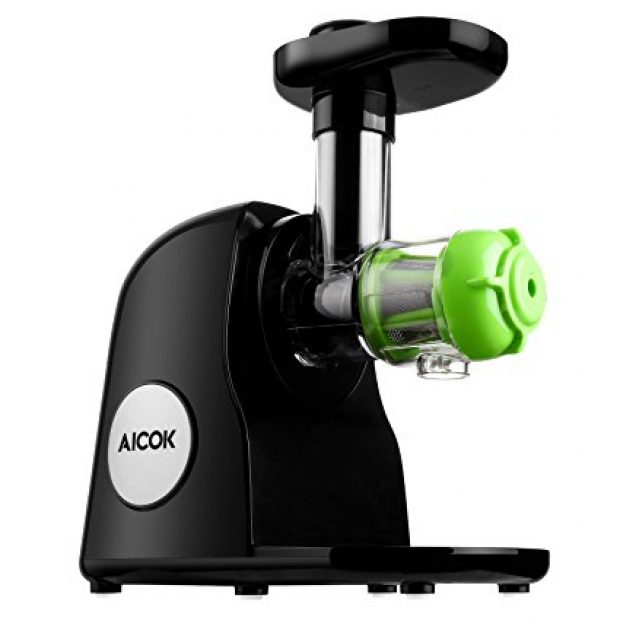 Normally $220, this masticating juicer is 50 percent off right now (Photo via Amazon)