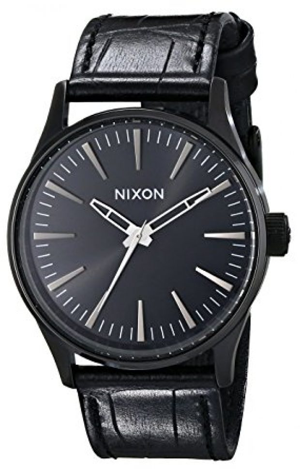 Normally $150, this Nixon watch is 50 percent off today (Photo via Amazon)