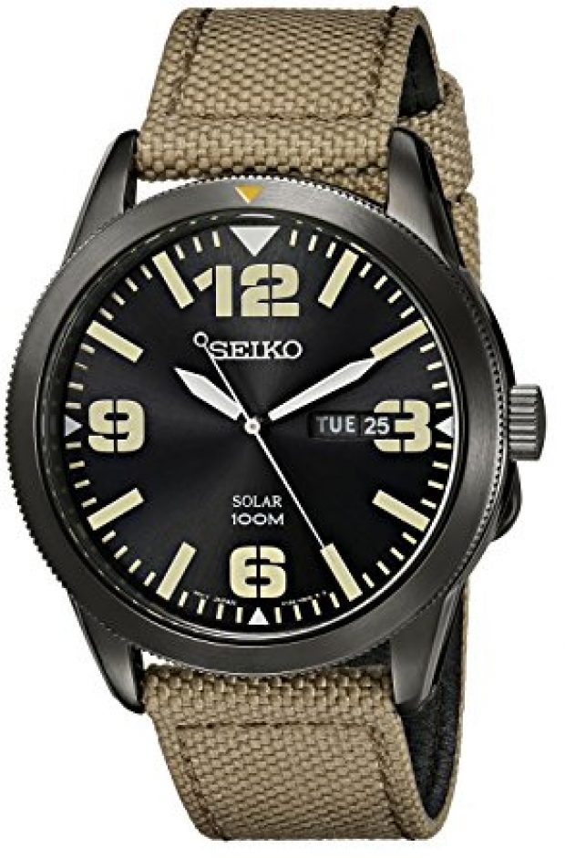 Normally $205, this Seiko watch is 64 percent off today (Photo via Amazon)