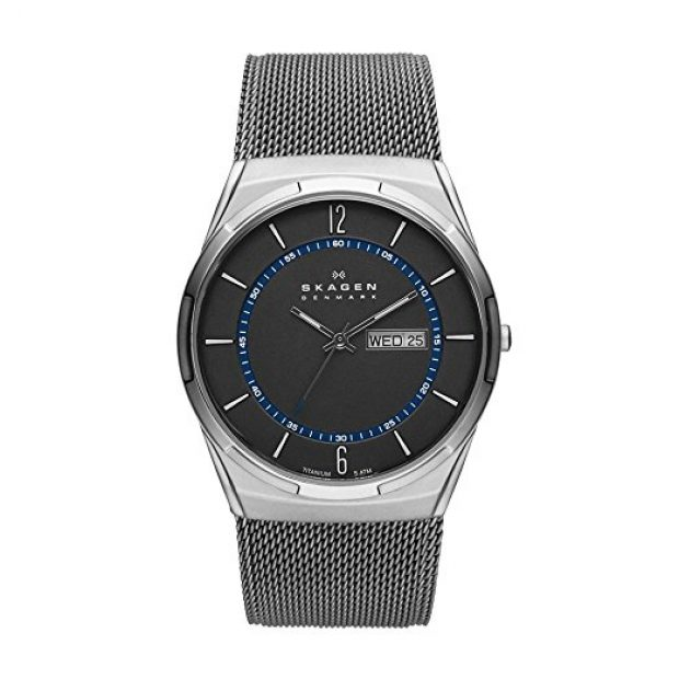 Normally $165, this titanium mesh watch is 58 percent off today (Photo via Amazon)