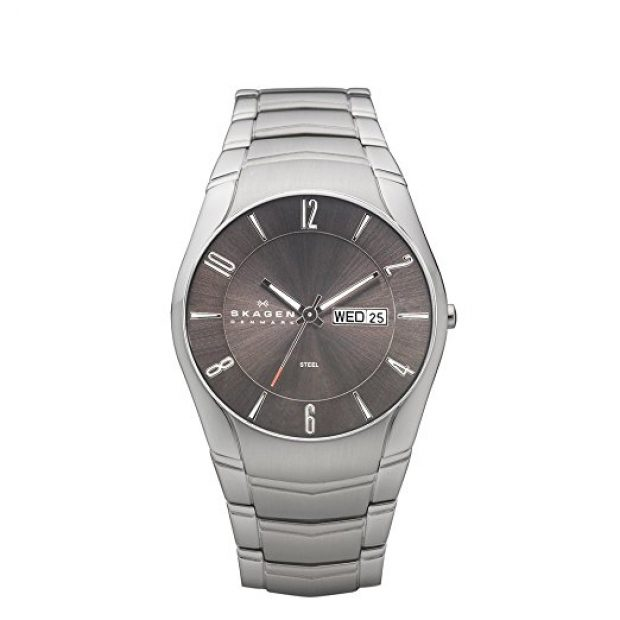Normally $155, this stainless steel watch is 58 percent off today (Photo via Amazon)