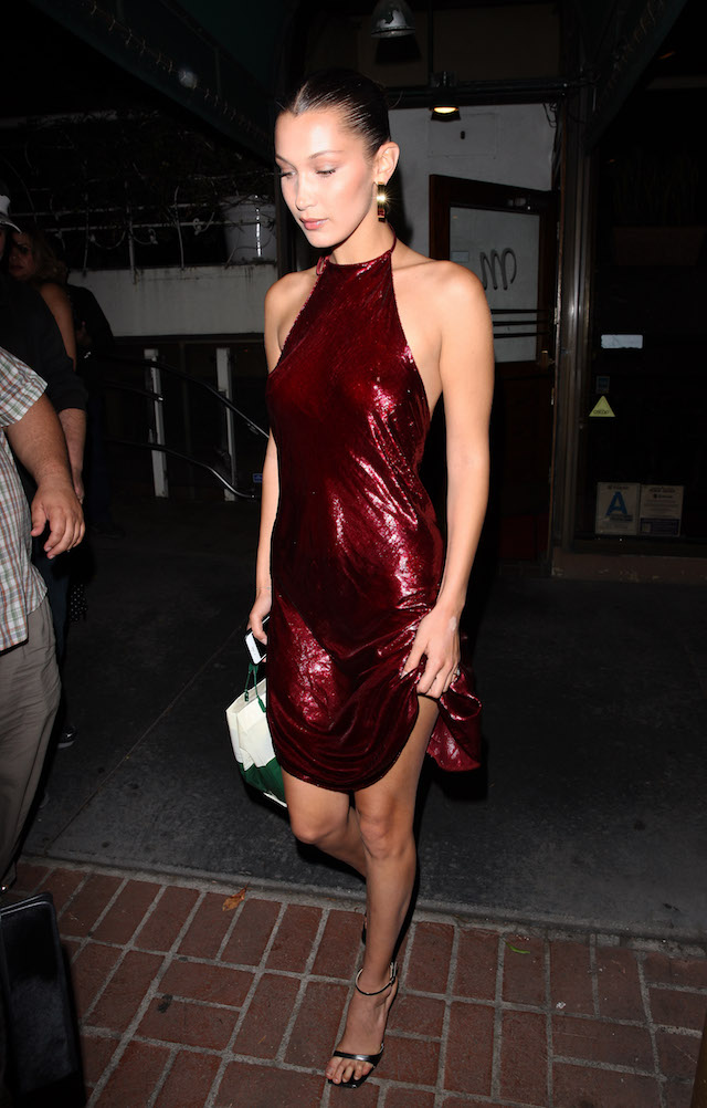 Bella Hadid Picture by: Photographer Group / Splash News<