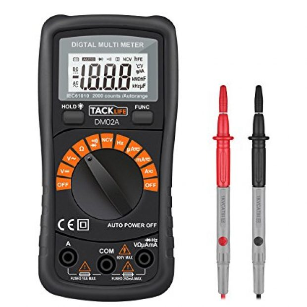Normally $50, this multimeter is 82 percent off with this exclusive code (Photo via Amazon)