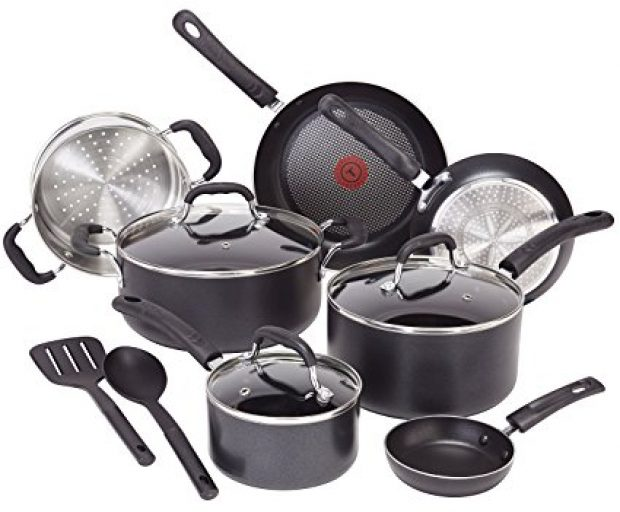 Normally $100, this 12-piece cookware set is 25 percent off today (Photo via Amazon)
