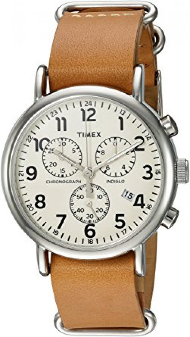 Normally $80, this Timex watch is 51 percent off today (Photo via Amazon)
