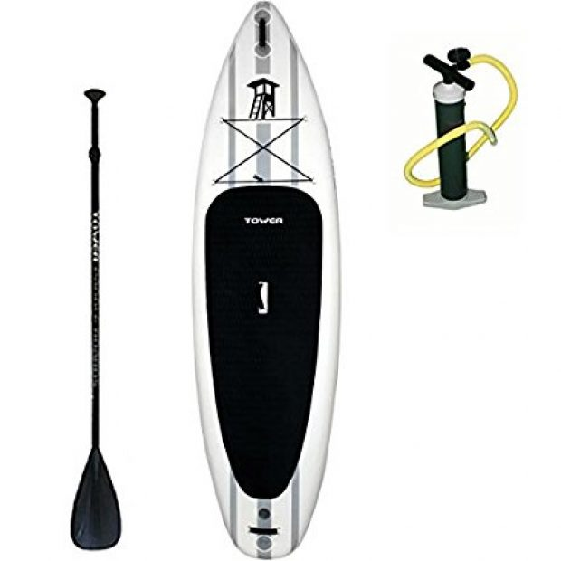 Normally $1300, this paddle board is 61 percent off today (Photo via Amazon)