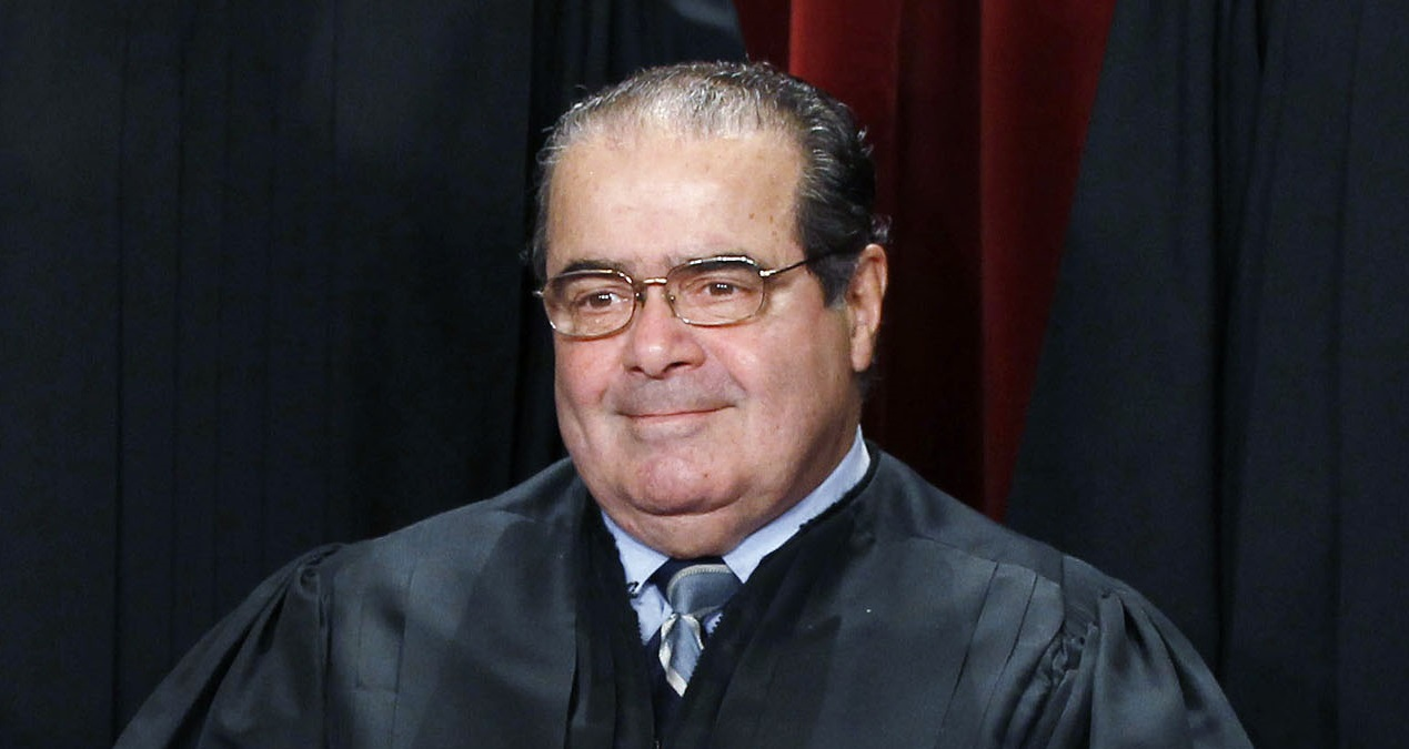 Antonin Scalia Reuters/Larry Downing
