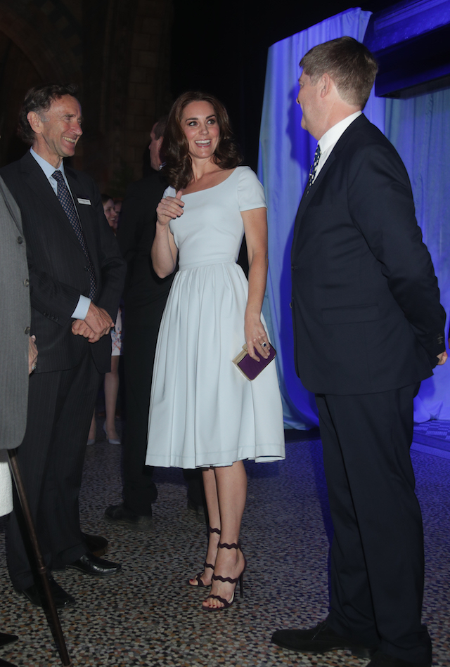 LONDON, UNITED KINGDOM - JULY 13: Catherine, Duchess of Cambridge attends the reopening of Hintze Hall at the Natural History Museum on July 13, 2017 in London, England.. (Photo by Yui Mok - WPA Pool/Getty Images)