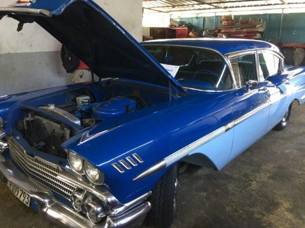 Nostalgic cars in Havana (Robert Donachie/Daily Caller News Foundation)
