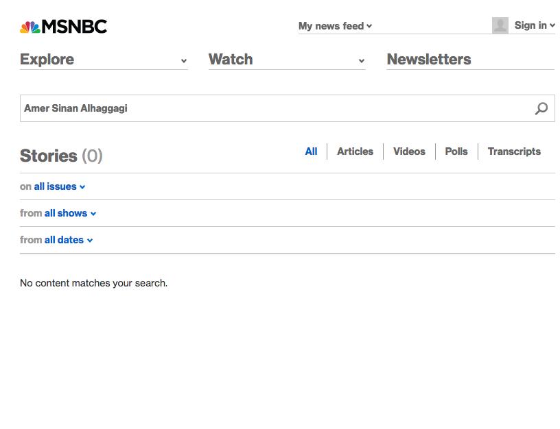 (Screenshot / MSNBC.com)