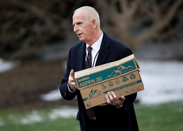 Keith Schiller, the director of Oval Office operations, has an income of $165,000 (REUTERS/Joshua Roberts)