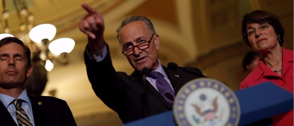 Image result for Schumer Withdraws Offer For Border Wall