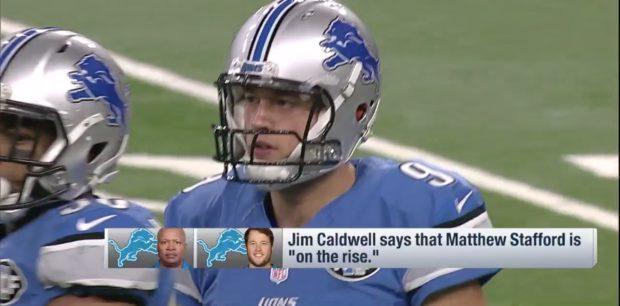 Matthew Stafford (Credit: Screenshot/NFL.com Video)