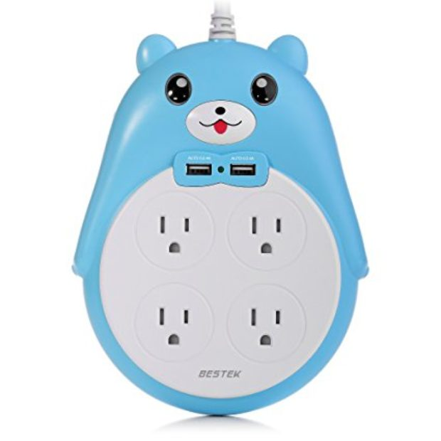 Normally $30, this power strip is 40 percent off (Photo via Amazon)
