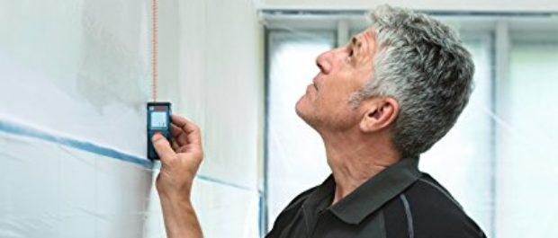 This guy using a laser measure looks like Anthony Bourdain (Photo via Amazon)