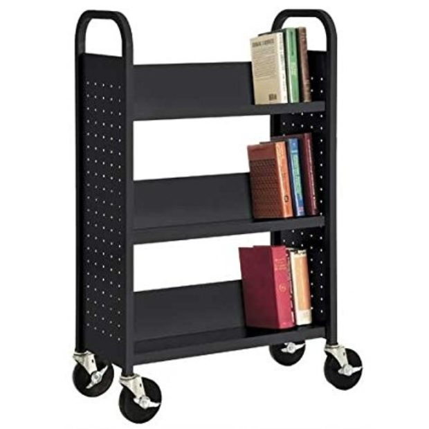 Normally $347, this book truck is 56 percent off today (Photo via Amazon)